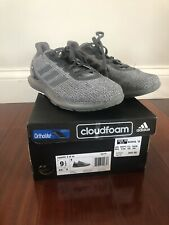 Adidas Cosmic 2 Running Training Shoes Grey Black Men's Size 9.5 Gray