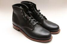 Wolverine 1000 Mile Round Toe Black Boots Size 8 D