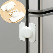 Safety Refrigerator Fridge Freezer Door Lock Latch Catch for Toddler Kids 2W9