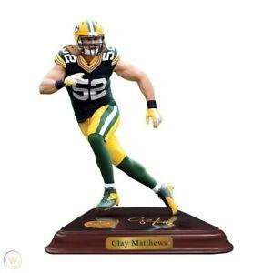 Brand New   Danbury Mint  -  Green Bay Packers Clay Matthews