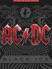 AC/DC BLACK ICE GUITAR TAB TABLATURE SHEET MUSIC SONG BOOK