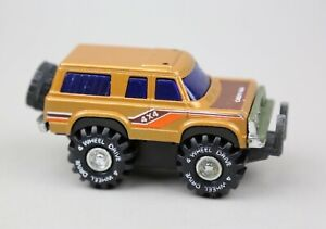VINTAGE CHEVY 4X4 JEEP BRONCO TRUCK FRICTION TOY ARCO STOMPERS ERA Hong Kong