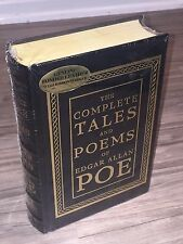 The Complete Tales and Poems of Edgar Allan Poe - leather-bound - BRAND NEW