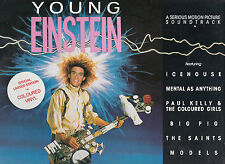 Young Einstein-1988-Soundtrack-[Made In Australia:Pink LP]-15 Track- Record LP