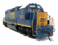 HO Scale Model Railroad Trains Engine CSX GP-38-2 Locomotive DCC Equipped 61119