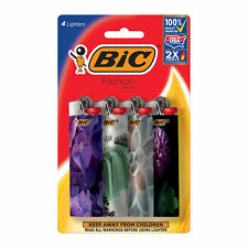 BIC Special Edition Fashion Series Lighter, 4-Pack, Assorted Designs