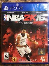 PLAYSTATION 4 PS4 GAME NBA 2K16 2016  AND SELAED