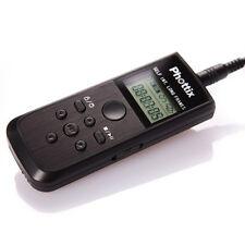 Intervallometro Phottix Nikos per Nikon D3300 D3200 D3100 D3000 D5300 D5500 D90