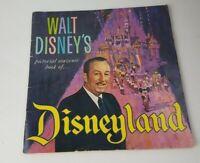Vintage 1965 Walt Disney's Large Picture Souvenir Book of Disneyland Disneyana
