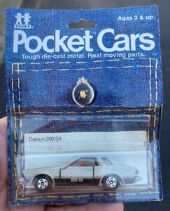 Tomy Pocket Cars Datsun 200 SX.  MOC 1982