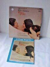 Romeo & Juliet Love Theme Sheet Music and Vinyl LP Record Franco Zeffirelli Used