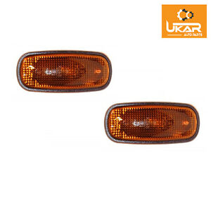 Land Rover Discover 2 Set Of Two Amber Side Marker Repeater Lights XGB000030