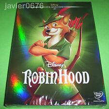 ROBIN HOOD CLASICO DISNEY NUMERO 21 - DVD NUEVO Y PRECINTADO SLIPCOVER