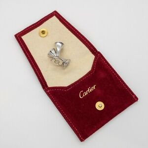 Authentic CARTIER LOVE Sterling Cufflinks (17845)