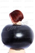 100% Latex Rubber Gummi Inflatable Ball Suit Catsuit Top Outfit Unique