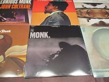 THELONIOUS MONK TIME COLUMBIA RECORDS COLTRANE CRISS CROSS SOLO BLUES 6 LP SET