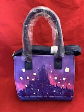 Disney ~ Loungefly  Tangled Lanterns Satchel Bag Purse Rapunzel Flynn boat NWT