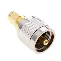 UHF Male to SMA Male RF Coaxial Adapter UHF to SMA Coax Jack Connector