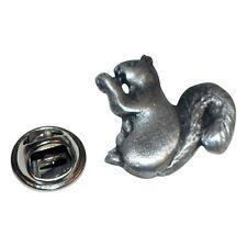 SCOIATTOLO bavero pin badge in peltro inglese xdhlp 1098