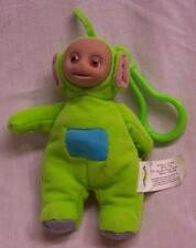 "Burger King Teletubbies Green Dipsy Keychain 5"" Plush Stuffed Animal Toy"