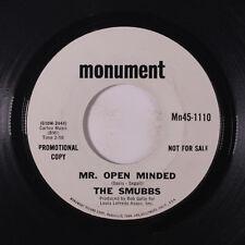 SMUBBS: Mr. Open Minded / Rosary Anne 45 (dj) Rock & Pop