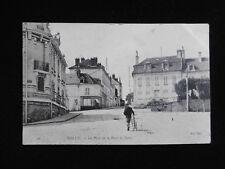 CPA 77 MELUN La place de la porte de Paris 1906 / Carte Postale Animée Ancienne