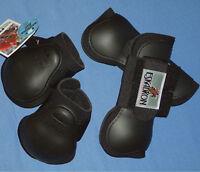 """4er Set Eskadron """"Protection Boots"""" Farbe schwarz Gr. Pony"""