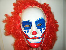 DOINK THE CLOWN WIG RED HAIR AFRO WWE NEW FANCY DRESS UP COSPLAY COSTUME ADULT