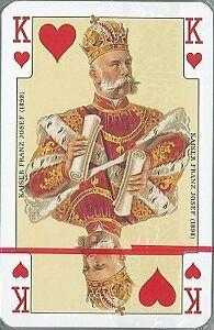 Piatnik 2138 Emperor anniversary Card Game 2 x 55-Piece