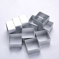 10pcs Stainless Steel Pineapple Cake Biscuit Cutter Bread Mold Mould Press Stamp