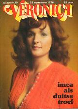VERONICA 1976 nr. 39  - IMCA MARINA / DR. HOOK / WIE VAN DE DRIE / TOP 40