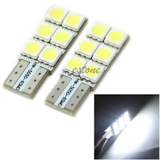 2Pc T10 194 168 Wedge 5050 6 SMD LED Bulb Car Tail Turn light New