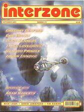 INTERZONE 171 Leigh Kennedy, Eric Brown, Zoran Zivkovic, Gregory Benford