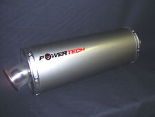 """UNIVERSAL TITANIUM  ROAD LEGAL RACE CAN EXHAUST  """"NEW"""""""