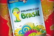 643 Stickers Collection Panini Brazil 2014 + Album FIFA World cup NEW USA Editio