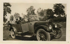 PHOTO ANCIENNE - VINTAGE SNAPSHOT - VOITURE TACOT DÉCAPOTABLE BOURGEOIS -OLD CAR