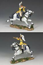 KING And Country francese CUIRASSIER RICARICA BUGLER na251