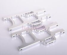 108019 HSP Front Lower Suspension Arm Silver RC 1:10 Monster Truck Upgrade Parts