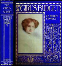 The Girl's Budget of Short Stories Hardback Early 1900s
