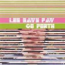 Go Forth: Les Savy Fav CD + Front Insert ONLY 2004 Frenchkiss Records Rock Music