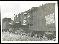 B&W Railroad Photo - Canadian National Rwy - Steam Locomotive #1520 4-6-0