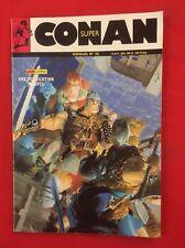 SUPER CONAN N'35 MENSUEL AOÛT  1988 BD SOUPLE MARVEL COMICS