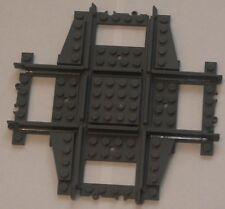 Custom Lego 90 Deg Crossing / Crossover Track (gray) Power Function & RC Train