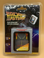 Back to the Future Flux Capacitor USB Car Charger (ThinkGeek) NEW Universal Rare