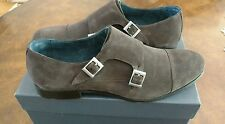 Joseph Abboud Irwin Round Toe Suede Loafer Size 13 Brown