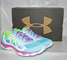 Youth Under Armour GGS Micro G Engage Running Shoe Size 6 - 1245161-481