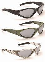 Boys Kids Childrens Army Camo Sports Dark Combat Military Wrap Retro Sunglasses