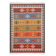 Antique Geometric Tribal 6x9 Balouch Afghan Handmade Oriental Area Rug 6' x 9'