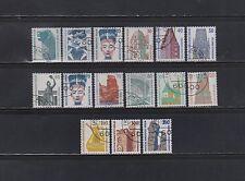 Gestempelte Briefmarken aus Berlin (1980-1990) mit Bauwerk-Motiv