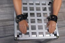 Male 1/6 scale bondage cuffs, bdsm gear, bdsm cuffs, Ken, Phicen, Hot Toys